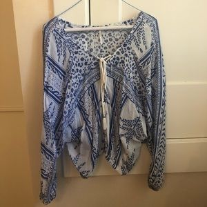 Free people blouse size S
